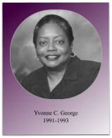Soror George's presidency included the 1993 Jabberwock and the chapter's celebration of its 40th anniversary.
