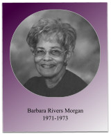 Soror Morgan oversaw the initiation of 8 initiates in 1972, the 1973 Jabberwock, and the chapter's 20th anniversary.