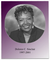 Soror Sinclair ushered in the initiation of 8 new members, implemented the Delta Academy Program, and oversaw the 1999 Jabberwock.
