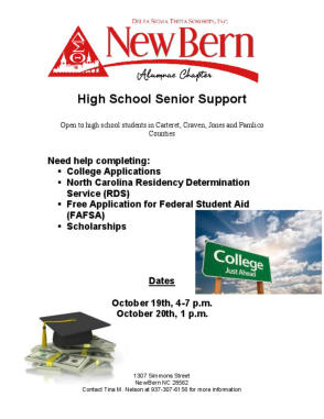 High School Senior Support