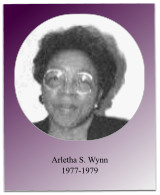 Under Soror Wynn's administration, Soror Sermon-Boyd was elected South Atlantic Regional Director, the 1979 Jabberwock was held, and the chapter refurbished the community meeting room of the Omega Psi Phi Center.