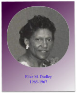 Soror Dudley was president during two Jabberwocks and the 1966/1967 Careerama.  Soror Dudley later served as Treasurer for many years and the title of Treasurer Emeritus was bestowed upon her.